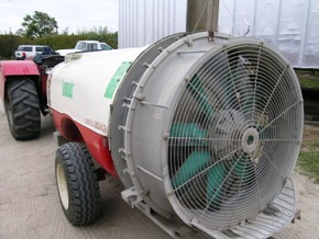 Conventional Air Blast Sprayer
