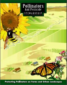 Pollinators and Pesticide Stewardship publication cover