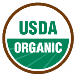 The USDA organic seal verifies that approved methods were used in the production and handling of the item.