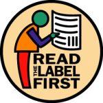 Read the label graphic