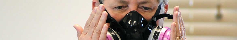 respirator testing half pressure