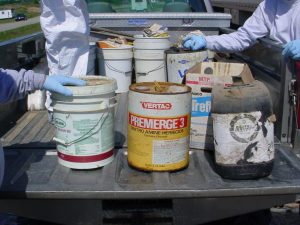 Pesticide and Container Disposal